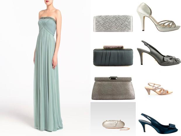 Vestido de Easy Wear / Complementos de Menbur