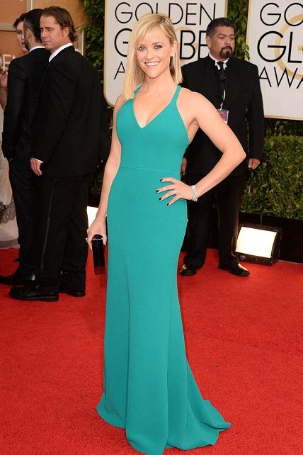 Reese Witherspoon vestida de Calvin Klein